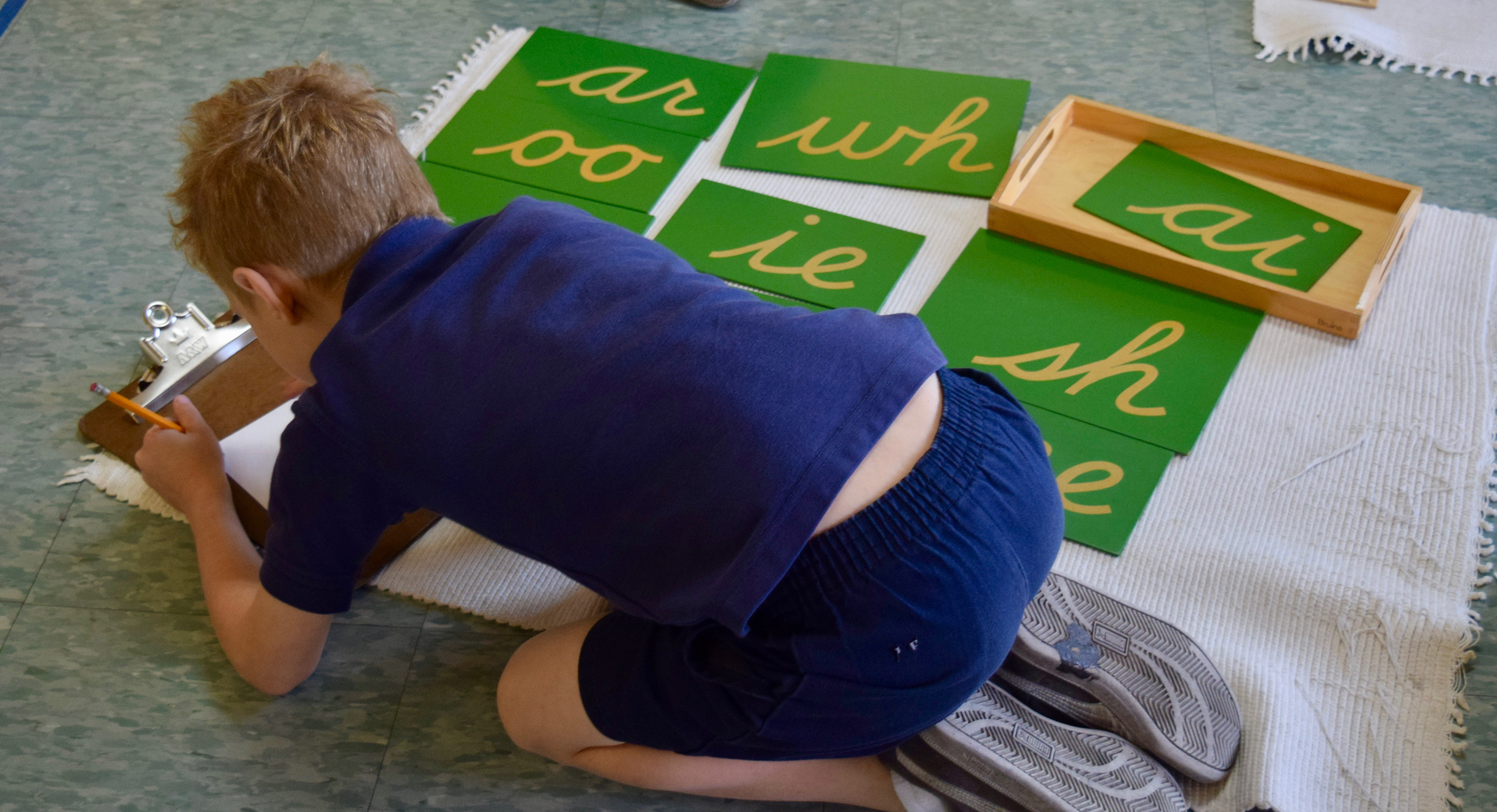 Montessori Materials - Learning Phonemes